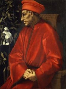 Ritratto di Cosimo il Vecchio di Pontormo