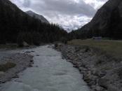 il torrente Morteratsch