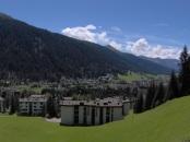 veduta di Davos