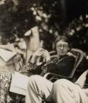 NPG Ax142604; Virginia Woolf (nÈe Stephen) by Lady OttolineMorrell