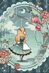 Alice guarda
