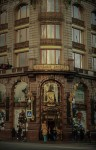 Singer House or Singer Company Buildingon on Nevsky Prospekt. Saint Petersburg,Russia