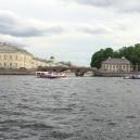 Ponte Lavanderia per entrare nel Fontanka