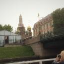 sguardo alla Chiesa del Salvatore sul Sangue Versato e ritorno sul fiume Neva....