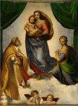 Madonna Sistina, 1513-14 Raffaello sanzio ,Dresda